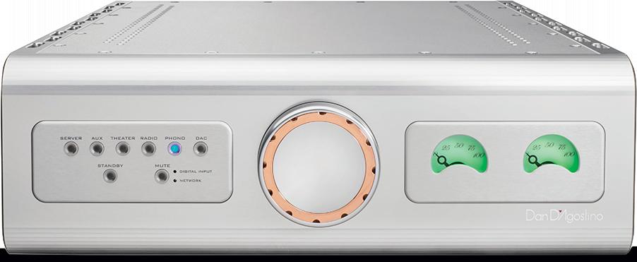 Dagostino Progression Integrated Amplifier Silver