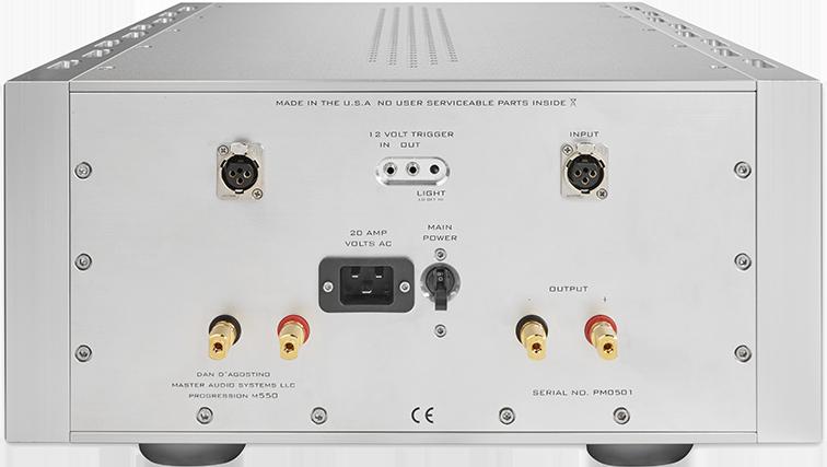 Dagostino Progression S350 Amplifier Silver